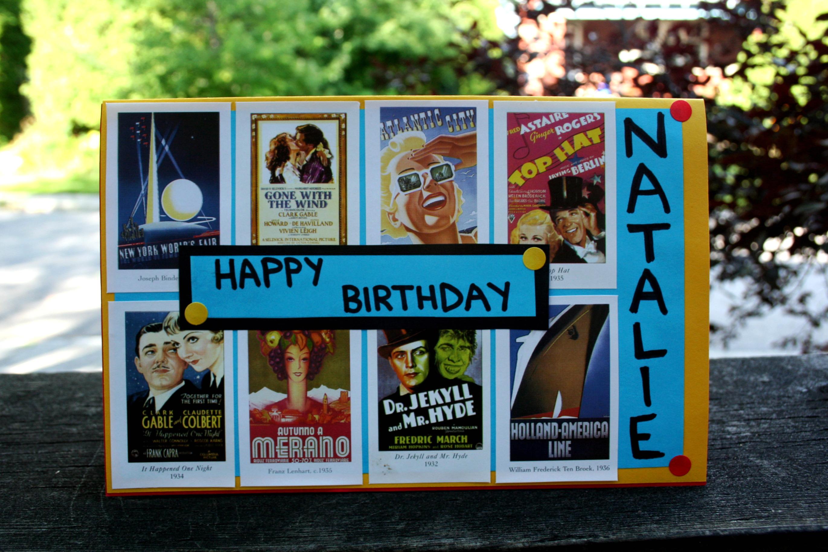 Happy Birthday Natalie Hilary Makes