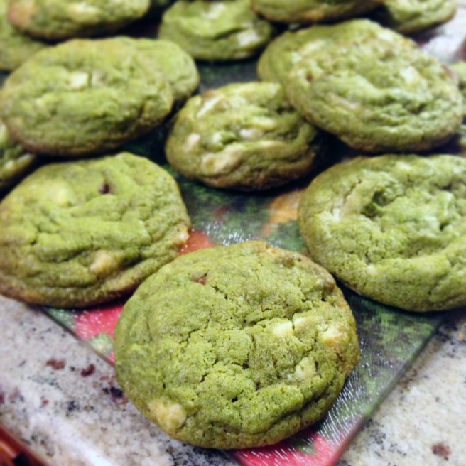 Green tea cookies6