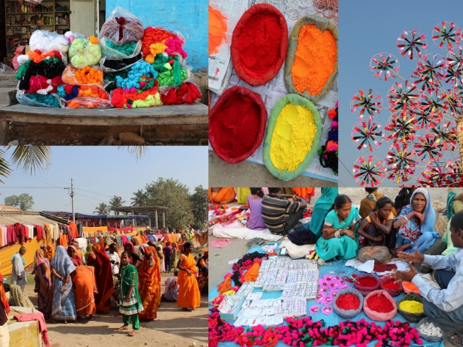 Some of the sights and colours found around Janakpur.