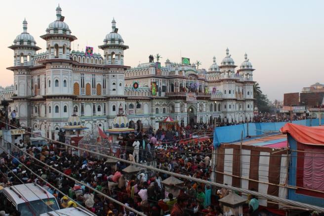 Janaki Mandir is spectacularly beautiful.