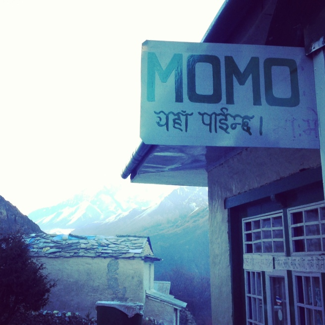 A momo stop along the Everest Base Camp trek.