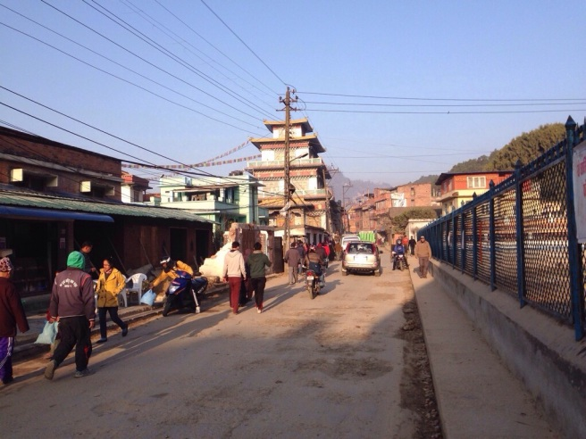 Swayambhu Saturday morning