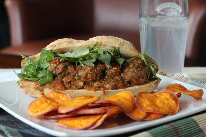 Curried Joe sandwich
