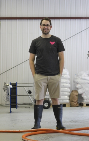 Josh McJannett, one of the three founders of Dominion City Brewing Co.