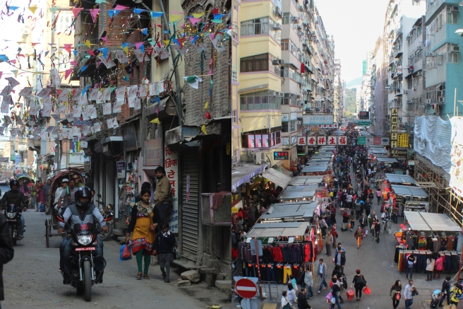 Kathmandu (left) to Hong Kong (right)