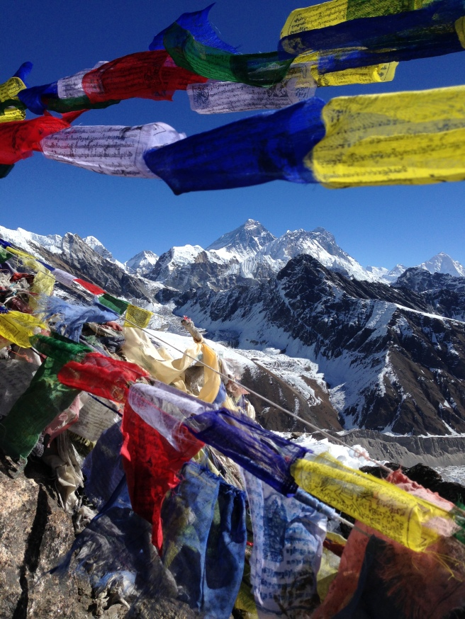 Everest, as seen from Gokyo-Ri.