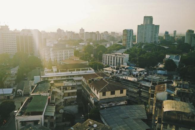 Dar es Salaam from above